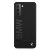 BMW Silicone M Collection Big Logo Etui na Galaxy S21+ PLUS czarny
