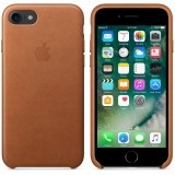 Apple iPhone 7/8 Leather Case naturalny brąz