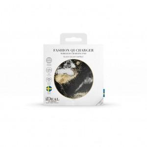 iDeal of Sweden ładowarka bezprzewodowa z technologią Qi (Black Galaxy Marble)