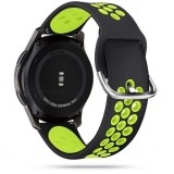 TECH-PROTECT SOFTBAND SAMSUNG GALAXY WATCH 3 41MM BLACK/LIME-1715907
