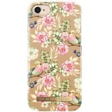 iDeal Fashion Case - etui ochronne do iPhone 6/6s/7/7s/8 (champagne birds)-184278