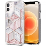SPIGEN CYRILL CECILE IPHONE 12 MINI PINK MARBLE-1954567