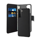 PURO Wallet Detachable - Etui 2w1 Samsung Galaxy S21 (czarny)-2253961