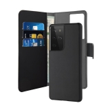 PURO Wallet Detachable - Etui 2w1 Samsung Galaxy S21 Ultra (czarny)-2253965