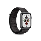 PURO Nylon - Pasek do Apple Watch 38 / 40 mm (Czarny)-2295821
