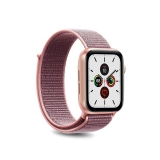 PURO Nylon - Pasek do Apple Watch 38 / 40 mm (Różowy)-2295825