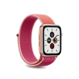 PURO Nylon - Pasek do Apple Watch 38 / 40 mm (Koralowy/Różowy)-2295829