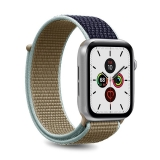 PURO Nylon - Pasek do Apple Watch 42 / 44 mm (Khaki/Granatowy)-2295837