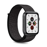 PURO Nylon - Pasek do Apple Watch 42 / 44 mm (Czarny)-2295841