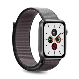 PURO Nylon - Pasek do Apple Watch 42 / 44 mm (Szary/Czarny)-2295845