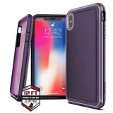 X-Doria Defense Ultra - Pancerne etui iPhone Xs Max (Drop test 4m) (Purple)-272162