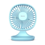 WIATRAK BIURKOWY BASEUS PUDDING SHAPED FAN BLUE-2760434