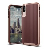 Caseology Wavelength Case - Etui iPhone Xs Max (Burgundy)-355975