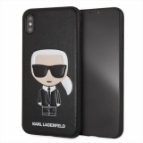 Karl Lagerfeld Iconic Karl Embossed - Etui iPhone Xs Max (Black)-361867