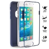 PURO Total Protection Cover - Etui iPhone 6s / iPhone 6 (granatowy)-430794