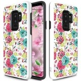 Zizo Sleek Hybrid Design Cover - Etui Samsung Galaxy S9  (Flowers)-444454