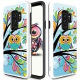 Zizo Sleek Hybrid Design Cover - Etui Samsung Galaxy S9  (Owl)-444459
