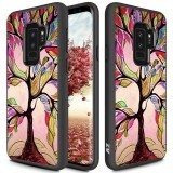 Zizo Sleek Hybrid Design Cover - Etui Samsung Galaxy S9  (Colorful Tree)-444464