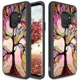 Zizo Sleek Hybrid Design Cover - Etui Samsung Galaxy S9 (Colorful Tree)-444484