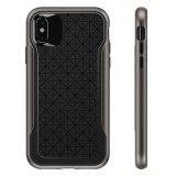 Caseology Apex Case - Etui iPhone Xs / X (Black/Warm Gray)-444892