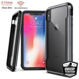 X-Doria Defense Shield - Etui aluminiowe iPhone Xs Max (Drop test 3m) (Black)-446206