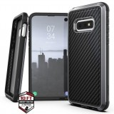 X-Doria Defense Lux - Etui aluminiowe Samsung Galaxy S10e (Drop test 3m) (Black Carbon Fiber)-450472