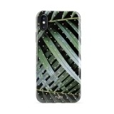 PURO Glam Tropical Leaves - Etui iPhone Xs / X (Brilliant Leaves)-469425