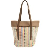 BUILT City Tote - Torba miejska (Candy Dot)-477088