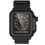 Catalyst Waterproof Case - Etui wodoszczelne   pasek Apple Watch 38 mm seria 3 / seria 2 (Stealth Black)-483890