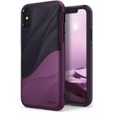 Etui Ringke Wave iPhone XS/X 5.8 Metallic Purple-495156