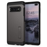 Etui Spigen Tough Armor Samsung Galaxy S10 Plus Gunmetal-500475