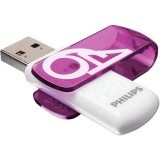 Philips Pendrive USB 2.0 64 GB - Vivid Edition (fioletowy)-588521