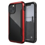 X-Doria Defense Shield - Etui aluminiowe iPhone 11 Pro (Drop test 3m) (Red)-649664