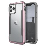 X-Doria Defense Shield - Etui aluminiowe iPhone 11 Pro (Drop test 3m) (Rose Gold)-649671