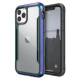 X-Doria Defense Shield - Etui aluminiowe iPhone 11 Pro (Drop test 3m) (Iridescent)-649685