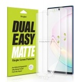 Folia Ringke Dual Easy Matte Full Cover Samsung Galaxy Note 10 Plus Case Friendly-655831