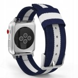TECH-PROTECT WELLING APPLE WATCH 1/2/3/4/5 (42/44MM) NAVY/WHITE-693964