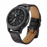 TECH-PROTECT LEATHER SAMSUNG GEAR S3 BLACK-694091