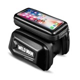 "SAKWA WILDMAN HARDPOUCH BIKE MOUNT ""XL"" BLACK-706168"