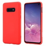 Crong Color Cover - Etui Samsung Galaxy S10e (czerwony)-889132