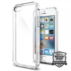 SPIGEN ULTRA HYBRID IPHONE 5S/SE CRYSTAL CLEAR-1588429