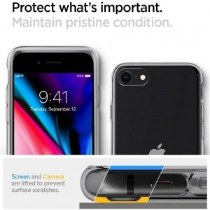SPIGEN LIQUID CRYSTAL IPHONE 7/8/SE 2020 CRYSTAL CLEAR-1150640