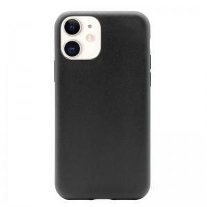 PURO Green Compostable Eco-friendly Cover - Ekologiczne etui iPhone 11 (czarny)-1531056