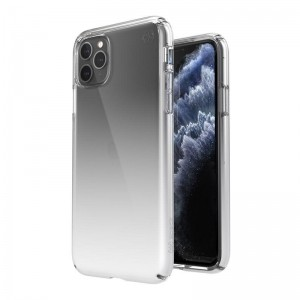 Speck Presidio Perfect-Clear + Ombre - Etui iPhone 11 Pro Max z powłoką MICROBAN (Clear/Atmosphere Fade)-1536575