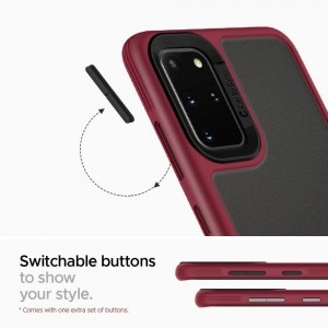 SPIGEN CIEL COLOR BRICK GALAXY S20+ PLUS BURGUNDY-1604133