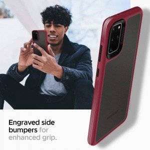 SPIGEN CIEL COLOR BRICK GALAXY S20+ PLUS BURGUNDY-1604135