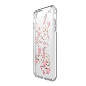 Speck Presidio Clear with Print - Etui iPhone 8 Plus / 7 Plus / 6s Plus / 6 Plus (Goldenblossoms Pink/Clear)-260515