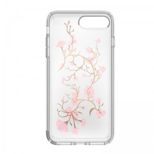 Speck Presidio Clear with Print - Etui iPhone 8 Plus / 7 Plus / 6s Plus / 6 Plus (Goldenblossoms Pink/Clear)-260517