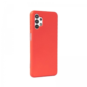 Crong Color Cover - Etui Samsung Galaxy A32 5G (czerwony)-2669696