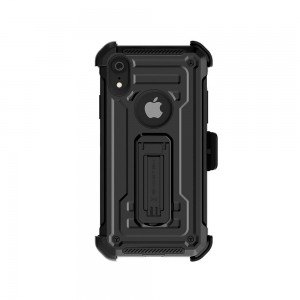 Etui Ghostek Iron Armor 2 iPhone XR 6.1 Black   Szkło-495769